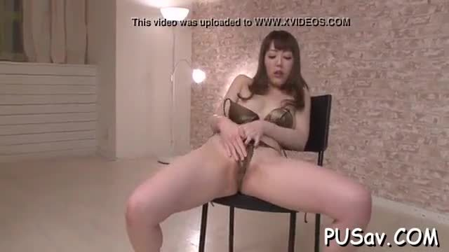 Juvenile slut fondles herself