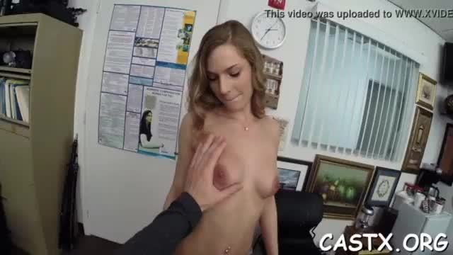 Cutie gets involved into a dirty fuck in a room for casting