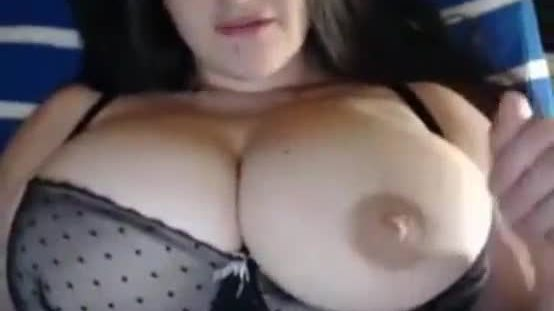 Hot girl tease huge tits