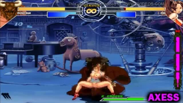 Minotaur vs mai shiranui the queen of fighters