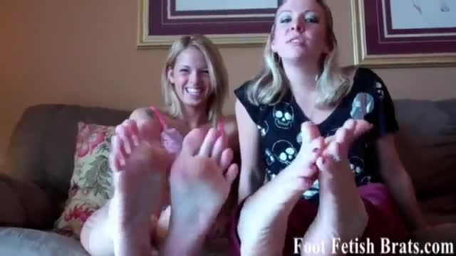 Free yoga instruction for a foot worshiping session