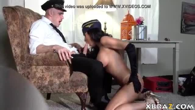 Stewardess milf is an escort girl as well and she fucks alot